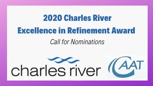 Charles River Excellence in Refinement Award